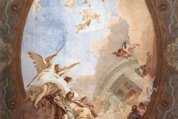 Allegorie-van-de-deugd Giambattista Tiepolo, 1740 - Scuola Grande dei Carmini