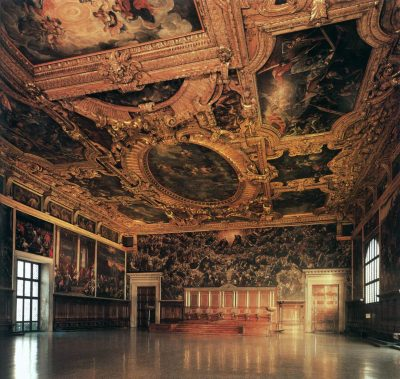 Sala del Maggior Consiglio. Foto: wgh.hu