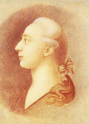 Giacomo Casanova geschilderd door broer Francesco (1727-1803). Het schilderij hangt in Moskou