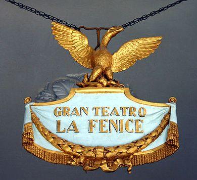 Gran Teatro La Fenice, Emblema della Fenice - Photo Giovanni Dall'Orto