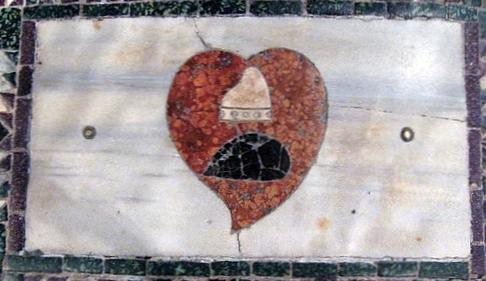 Heart of Doge Erizzo in Basicila San Marco Venice