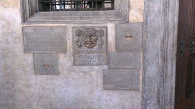 Bocca di Leone – dogepaleis Venetië, buitengalerij eerste verdieping
