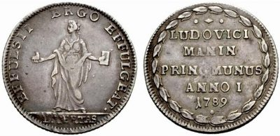 de laatste oselle: die van de laatste doge, Ludovico Manin - 1789