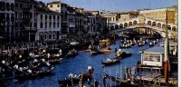 Processie Canal Grande Papa Sarto