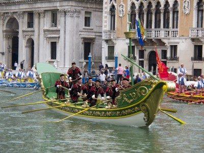 Roeifeest Venetië (Regatta Storica )