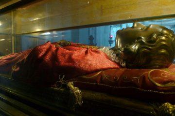 Santa Lucia Relics Venice