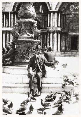 Willem de Mérode op het San Marcoplein, 1923