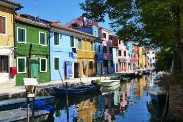 Burano, het kanteiland met de kleurrijke huizen