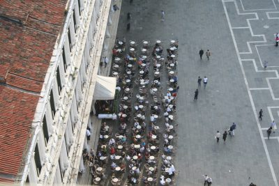 terras op Piazza San Marco