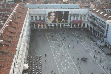 Piazza San Marco vanaf de Campanile