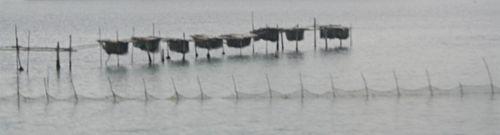 visserij op de Venetiaanse lagune